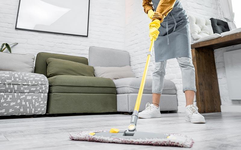 Services de nettoyage de locaux particuliers - les copropriétés
